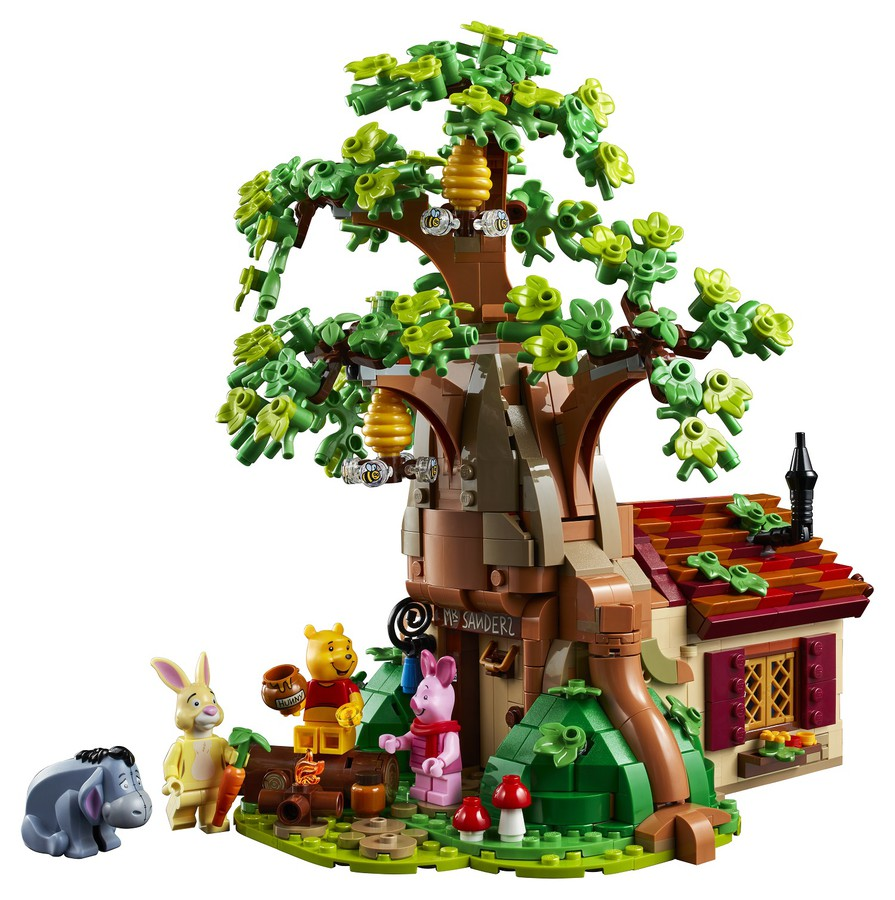 Exterior Shot of the Building and Minifigures