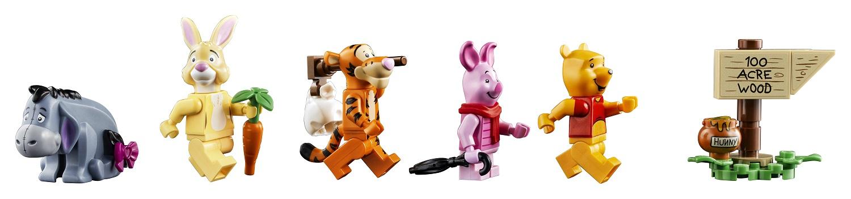 LEGO Winnie The Pooh - Minifigures
