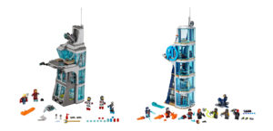 Which LEGO Avengers Tower is Better: A Comparison of Sets 76038 and 76166