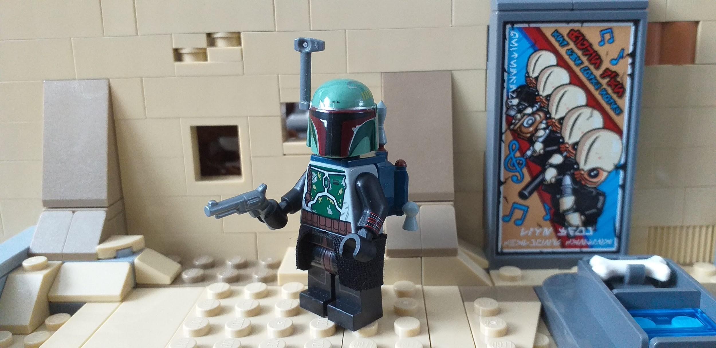 custom lego mandalorian