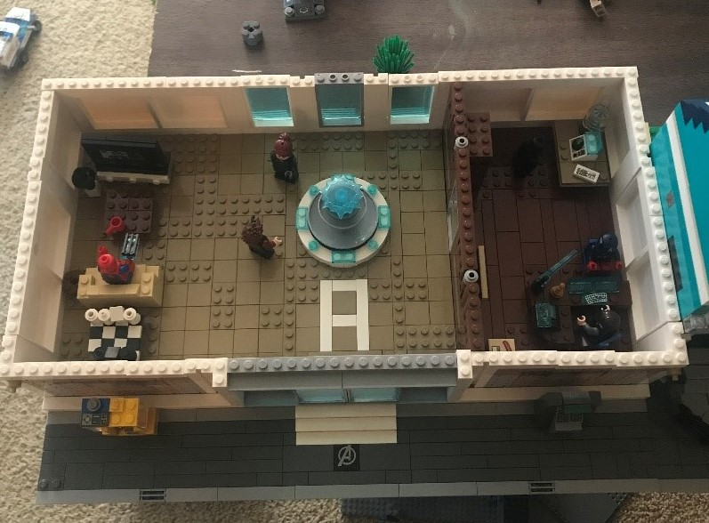 lego avengers compound