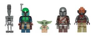 A Ranking of LEGO Mandalorian Minifigures from Worst to Best