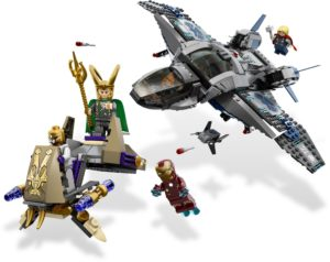LEGO 6869 Quinjet Aerial Battle Set Review