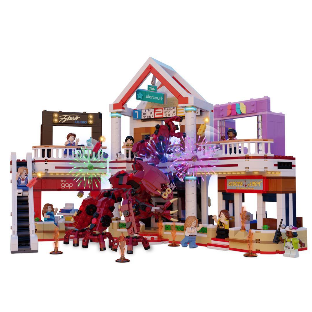 LEGO Stranger Things Starcourt Mall