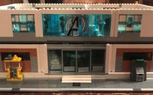 Assembling the LEGO Avengers Compound (Part 2)