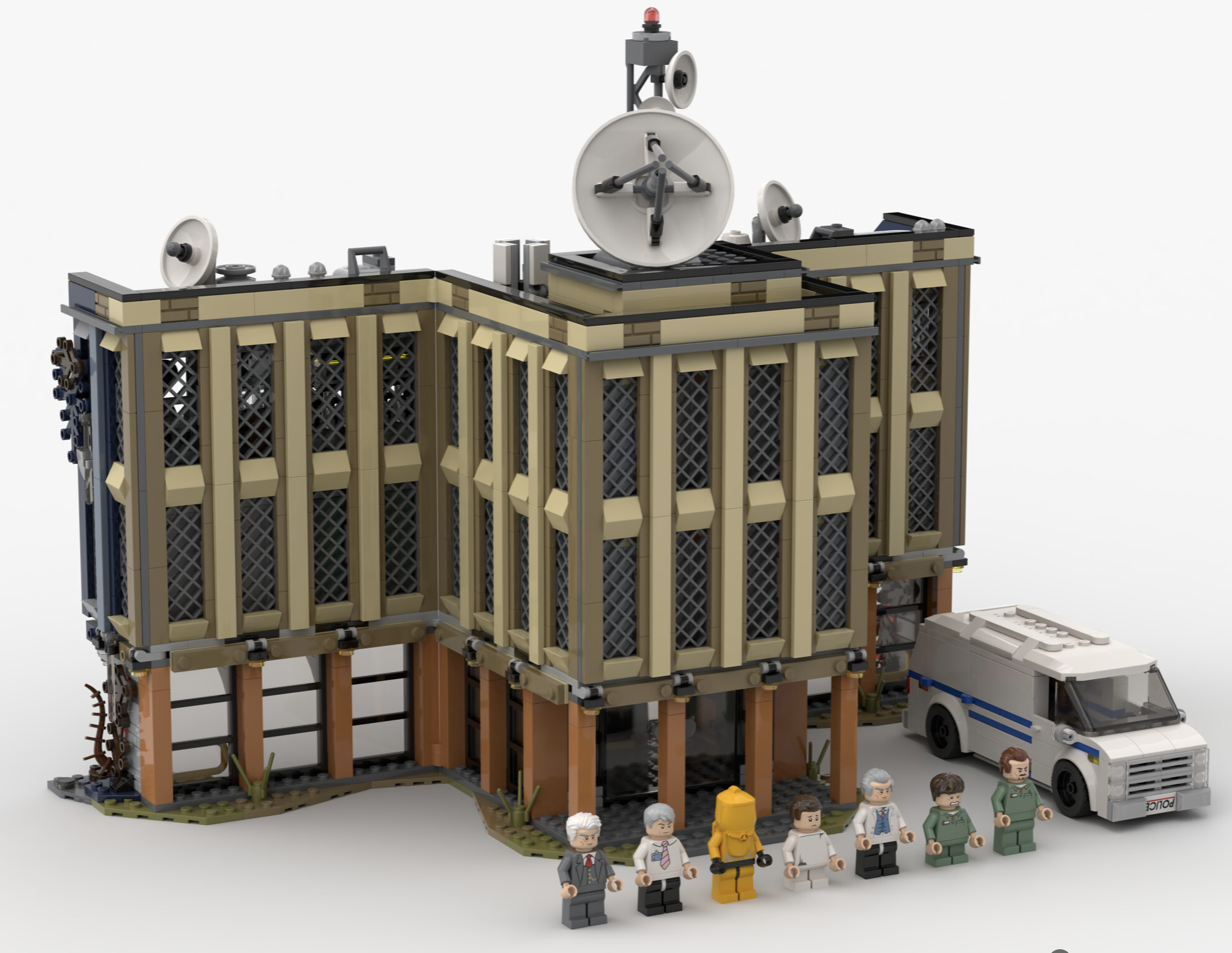 LEGO Stranger Things Hawkins Lab