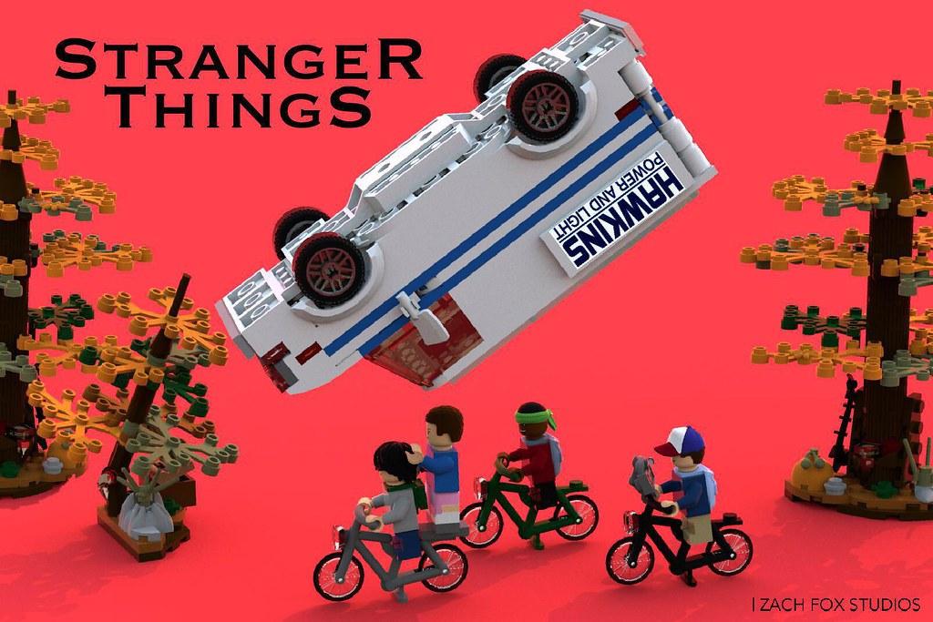LEGO ST Van Chase