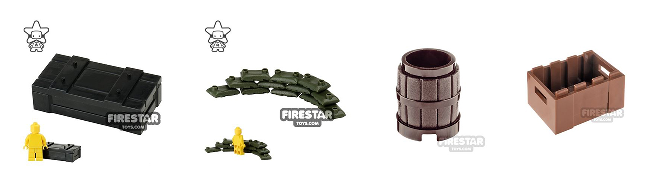custom lego military