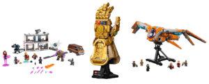 LEGO Marvel Infinity Saga Sets are Around the Corner!