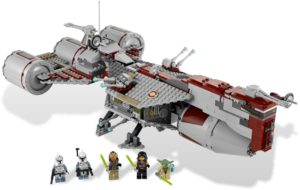 LEGO 7964 Republic Frigate Set Review
