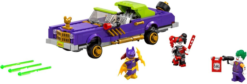 70906: The Joker Notorious Lowrider