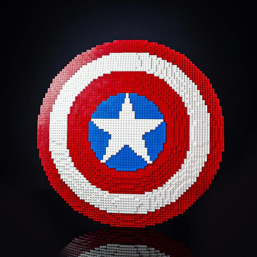 Cap Shield - Front View of Build