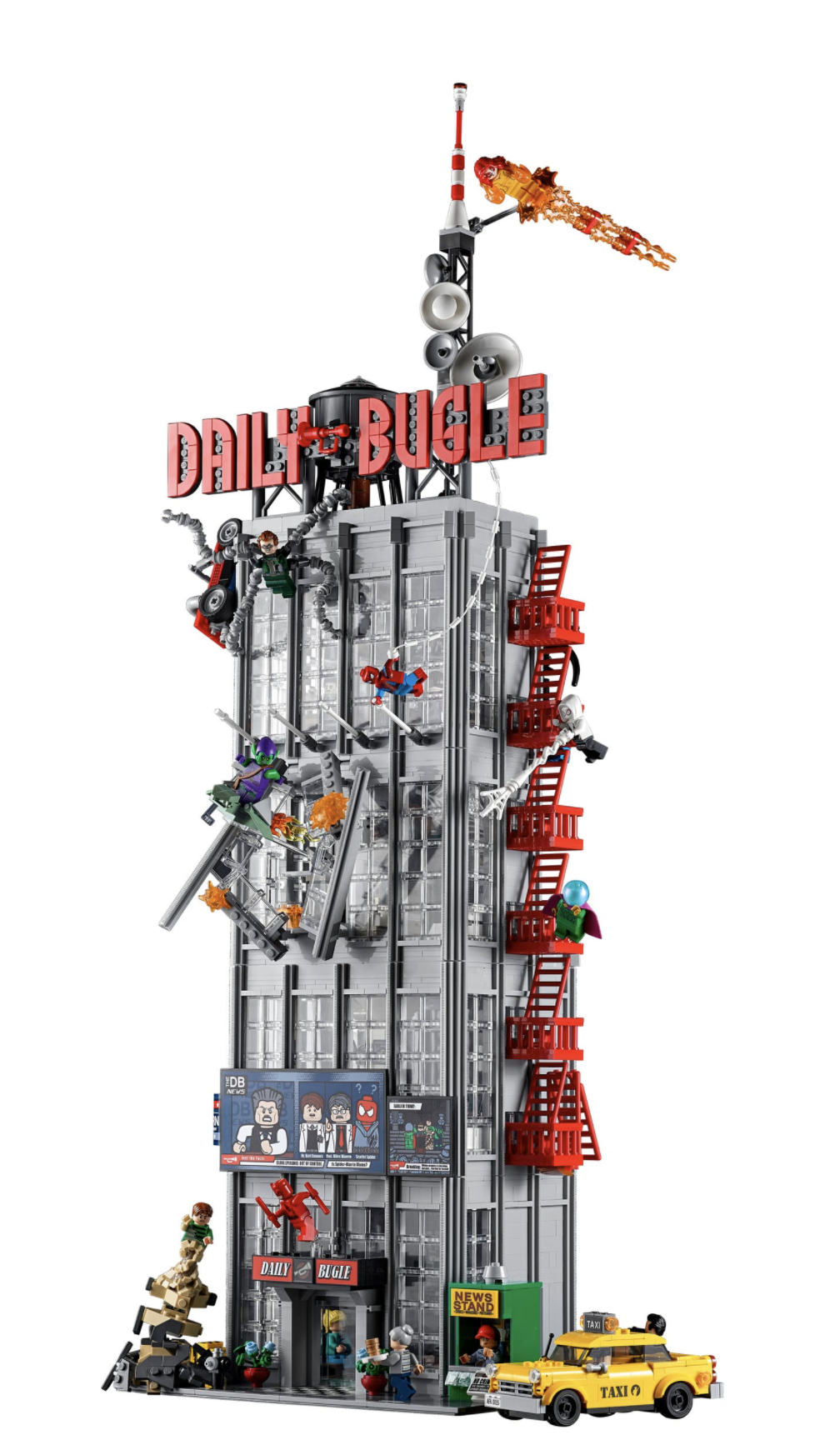 Daily Bugle Minifigures - Header Image