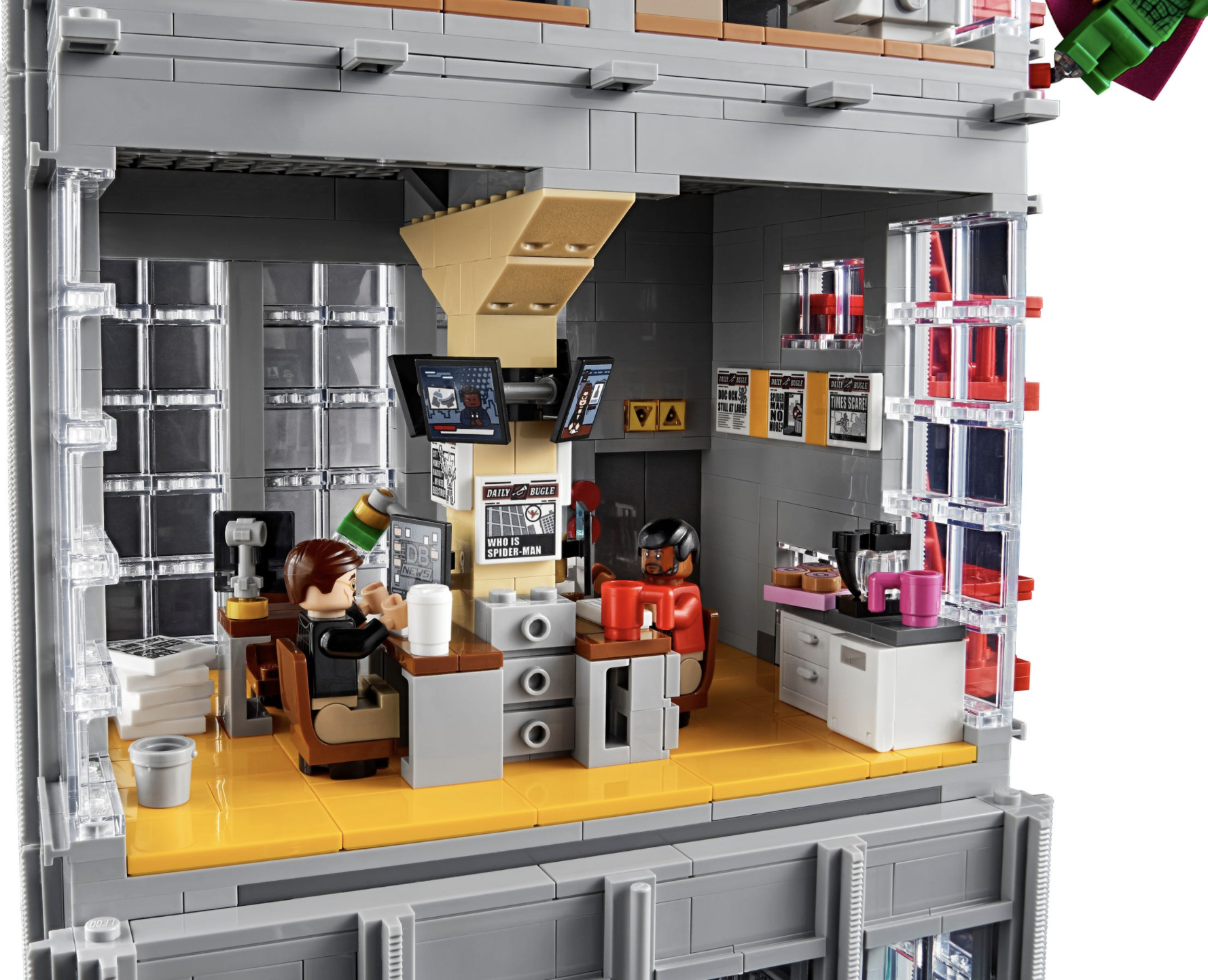 Daily Bugle Minifigures - Office Room