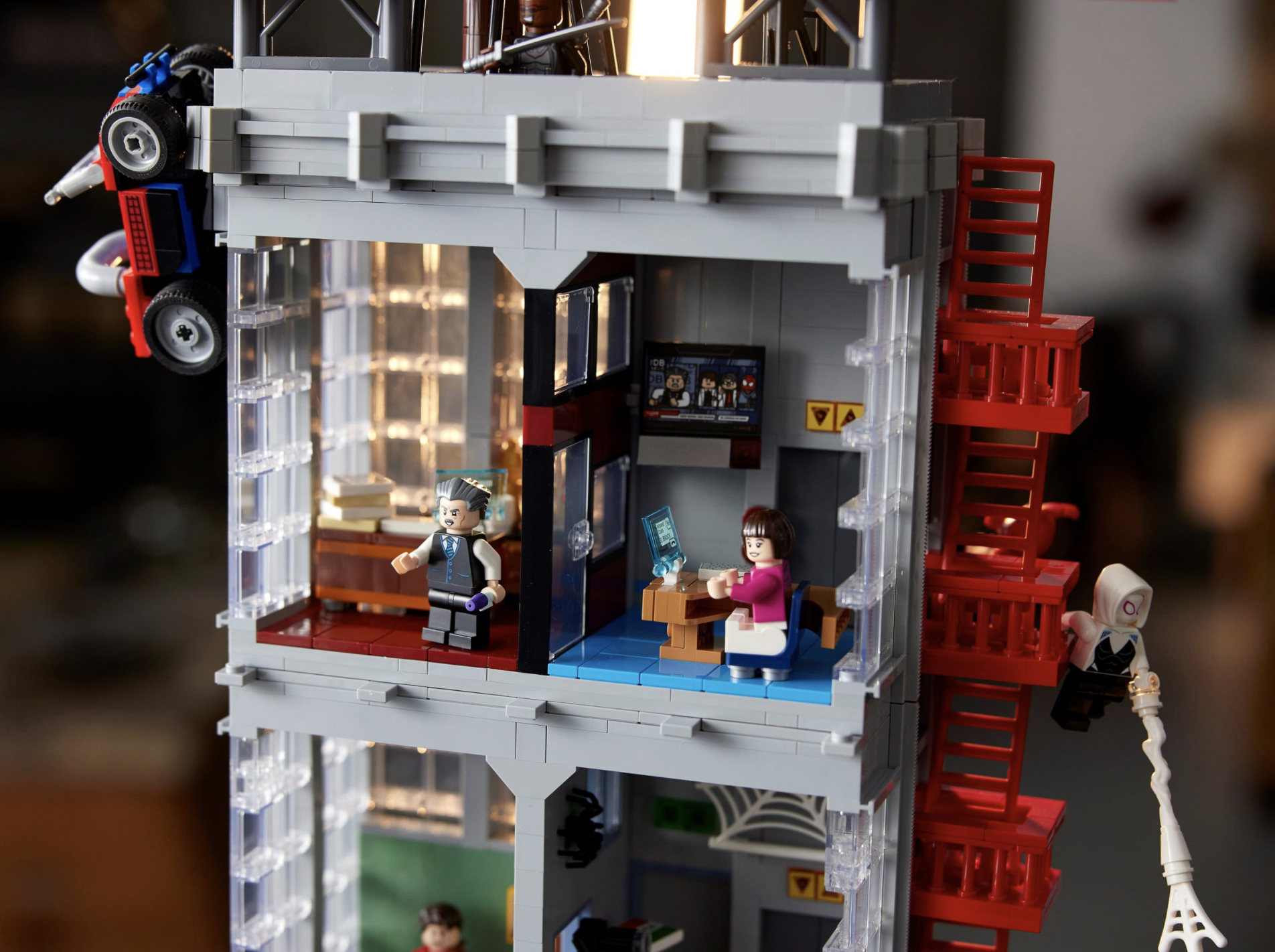 Daily Bugle Minifigures - Footer Image