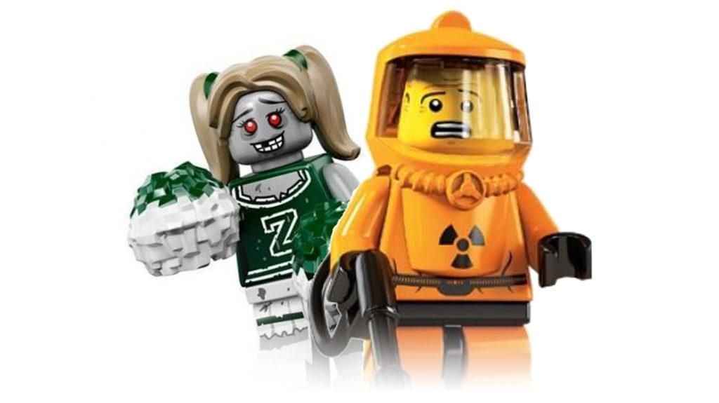 Halloween LEGO Footer