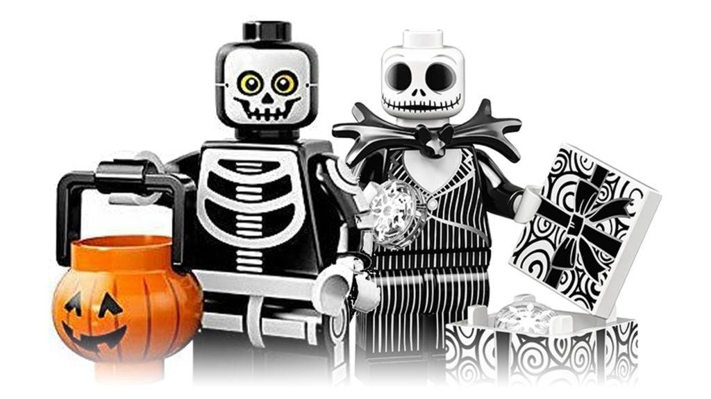 LEGO Jack Skellington and Skeleten Man